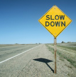 Slow Down in a new relationship